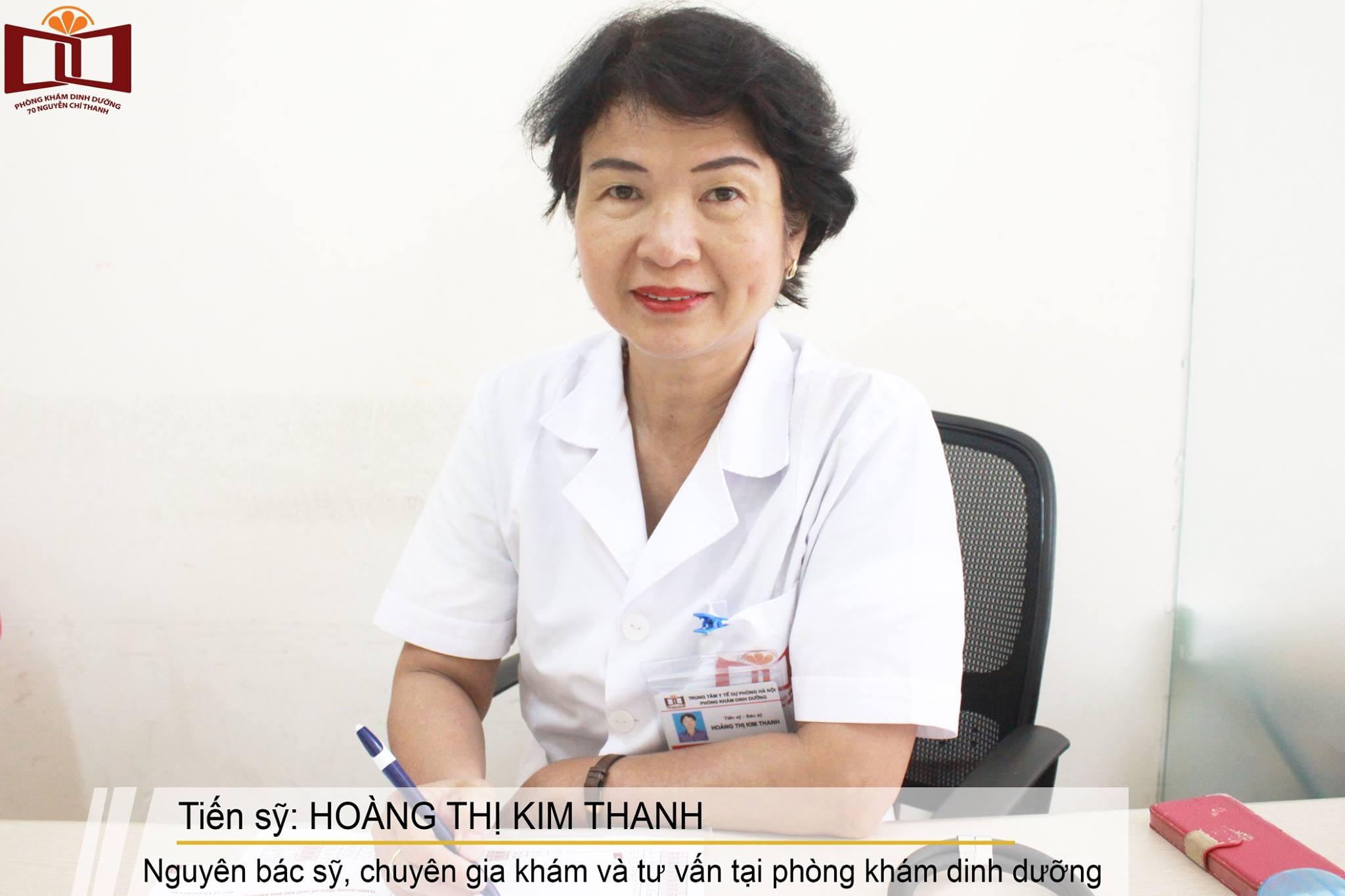 Bác sỹ Hoàng Kim thanh